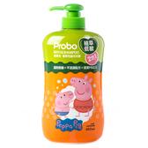 博寶兒 植萃低敏洗髮沐浴二合一 650ml 佩佩豬