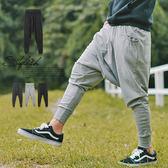 舒適素面棉質飛鼠褲/哈倫褲/棉褲【N9948J】