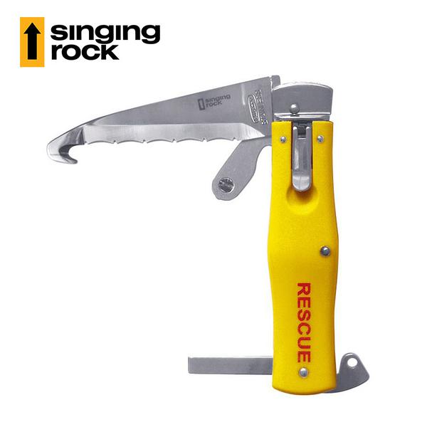 Singing Rock 救援刀RESCUE KNIFE A0030Y / 城市綠洲(捷克品牌、不銹鋼、折刀、安全鎖)