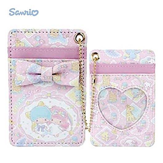 日本限定 雙子星 KIKI & LALA MANUFATTO 聯名款 鬆餅糖罐 甜點風 珠鍊 票卡夾套