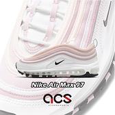 Nike 休閒鞋 Wmns Air Max 97 白 粉紅 氣墊 女鞋 復古慢跑鞋【ACS】 DA9325-100