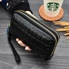 特惠全場九折 新款雙層手拿包女士零錢包歐美時尚手機包迷你小包拉鏈包