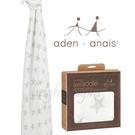 美國Aden+Anais 竹纖維毯子包巾(一入裝) 銀河星星8943