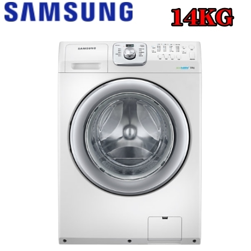 回函贈★ SAMSUNG三星14KG變頻滾筒-無烘乾洗衣機WF14F5K3AVW/TW