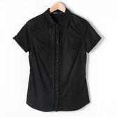 【MASTINA】素面條紋襯衫-黑 精選單一價
