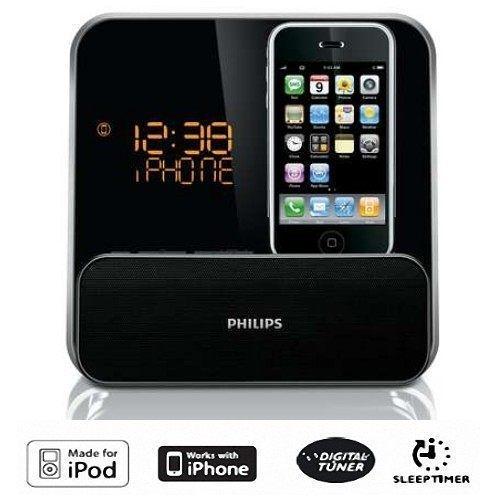 飛利浦i{ DC315 } Pod/iPhone Docking鬧鐘收音機 @免運費@