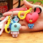 韓國鑰匙扣創意男女情侶汽車鑰匙錬可愛包掛飾掛件 k-shoes