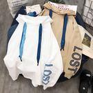 外套CEC慵懶衛衣女原宿風連帽2019春秋新款薄款韓版寬鬆學生長袖外套 伊羅鞋包