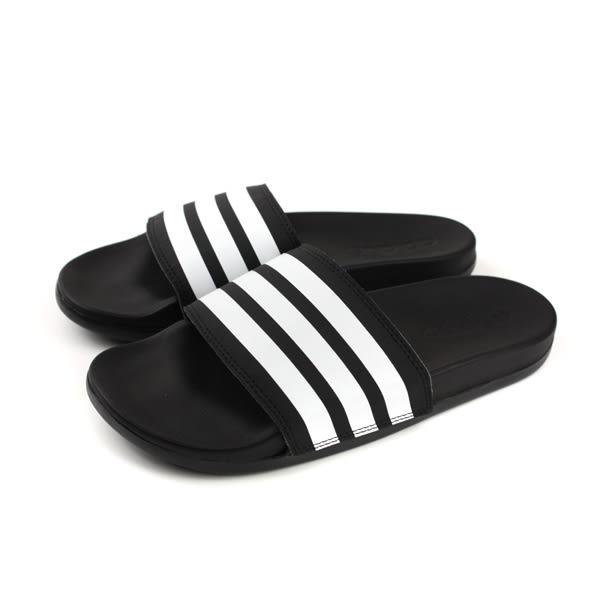 adidas ADILETTE COMFORT 拖鞋 防水 黑色 女鞋 AP9966 no610