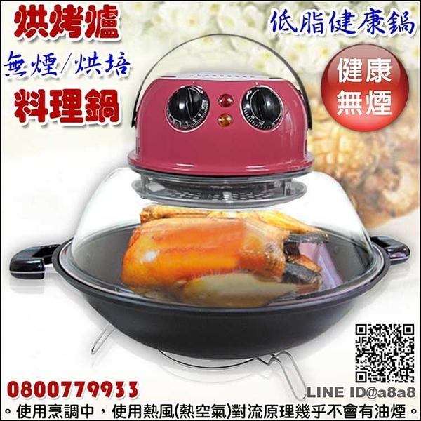 烘烤兩用爐(低脂無煙烘培料理健康鍋)【3期0利率】【本島免運】