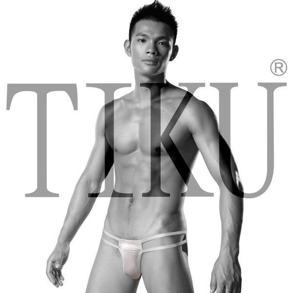 TIKU 梯酷 ~ 舒適型男囊袋款三角內褲-白色(WP1701)