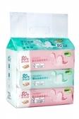 【奇買親子購物網】Nac Nac EDI超純水嬰兒潔膚柔濕巾/80抽(3入)(恐龍)
