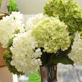 假花繡球仿真花 裝飾花客廳花卉落地絹花 婚慶樣板間室內擺放花卉   igo 薔薇時尚
