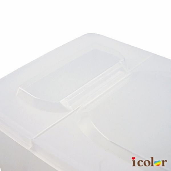 icolor 日本製 開蓋式儲米盒