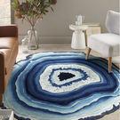 茶幾地毯北歐圓形現代簡約客廳沙發地毯臥室...