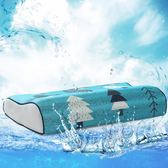 夏季冰絲記憶枕學生枕芯護頸枕單人涼枕成人夏天頸椎枕頭