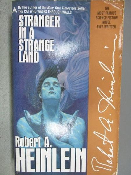 【書寶二手書T3/原文小說_MMN】Stranger in a Strange Land_Robert A. Heinlein