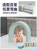 床圍欄寶寶防摔防護欄兒童圍欄床擋嬰兒軟包一面圍通用床護欄擋板【風鈴之家】