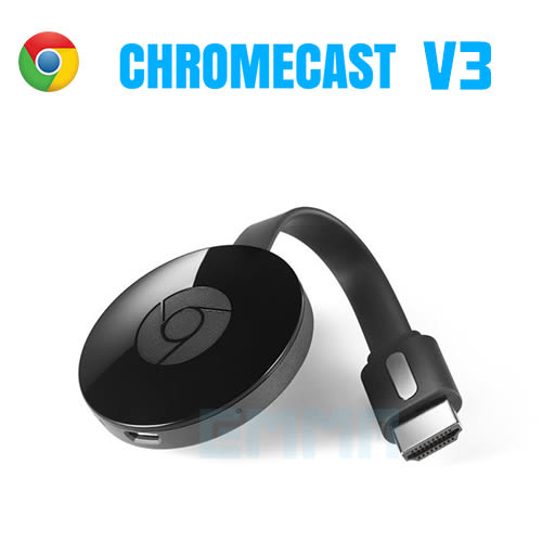Google Chromecast V3 電視棒 媒體串流播放器 IOS / Android / Mac / Win / HDMI Streaming Media Player