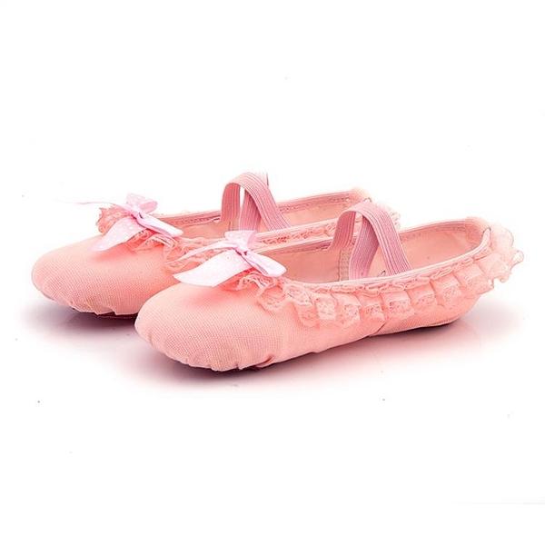 兒童舞蹈鞋女軟底練功考級鞋成人形體貓爪跳舞鞋紅女童中國芭蕾舞 童趣屋  新品