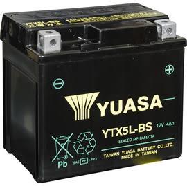 YUASA 湯淺 YTX5L-BS 機車電瓶/電池 正廠零件(三陽 光陽 台鈴 台灣山葉 摩特動力)