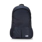 《高仕皮包》【免運費】KANGOL 輕量雨套設計後背包.深藍色KG1115-08-BLUE