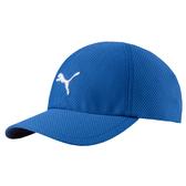 Puma 藍色 運動帽 老帽 遮陽帽 透氣 排汗 運動 六分割帽 棒球帽 運動帽 02174904