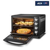 烤箱 ACA/北美電器 ATO-HB38HT電烤箱家用烘焙多功能全自動38L商用烤箱 igo 全館免運