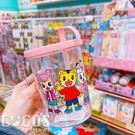正版授權 巧虎 琪琪 桃樂比 280 c.c 吸管杯 杯子 粉色款 COCOS PP049