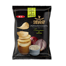 華元波的多洋芋片-酸奶洋蔥78G【愛買】