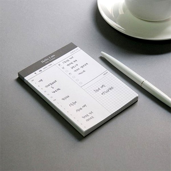 【BlueCat】I am日計劃行程工作備忘錄便條紙 記事本