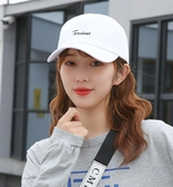 棒球帽 帽子女韓版鴨舌帽