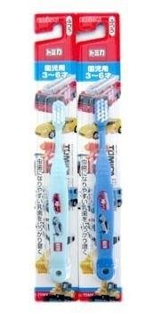 日本品牌【EBISU】多美小汽車兒童牙刷-顏色隨機出貨