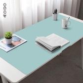 相伴一生辦公桌墊 超大號可定制尺寸圖案鼠標墊電腦書桌墊子wl12755[黑色妹妹]