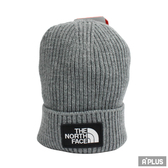 The North Face TNF LOGO BOX CUFFED BEANIE 毛帽 針織帽 - NF0A3FJXDYY1
