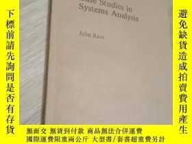 二手書博民逛書店case罕見studies in systems analysis(京)Y179933 見圖 見圖