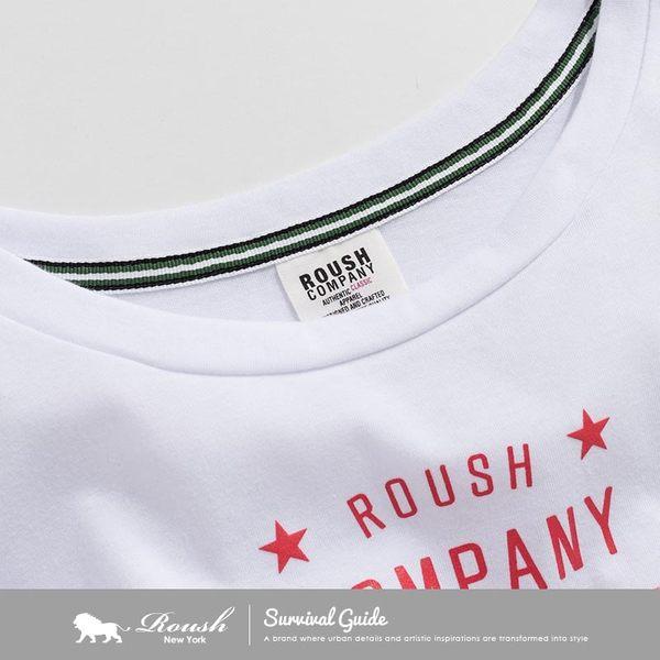【Roush】女生NYC立體星星短TEE - 【712172】