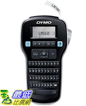 [105美國直購] DYMO 1790415 英文電子標籤機 打標機 LabelManager 160 Hand-Held Label Maker _ii35