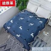 單人毛毯 法蘭絨毛毯珊瑚絨蓋毯床單學生宿舍空調毯午睡毯子床蓋 快速出貨