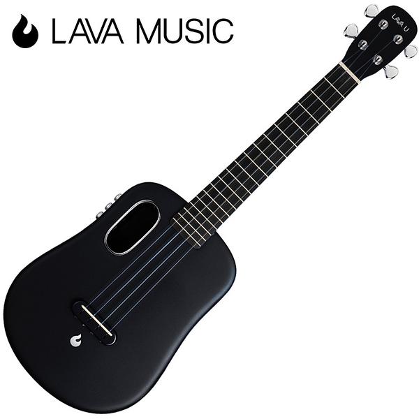 LAVA U 拿火烏克麗麗-26吋/L2 mini /Free Boost/碳纖維材質/插電加震款/黑色