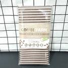 台灣製造 米諾諾 環保咖啡紗沐浴巾 洗澡巾30x90cm