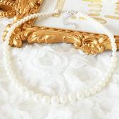 簡約排序珍珠項鍊~服飾搭配~美之札