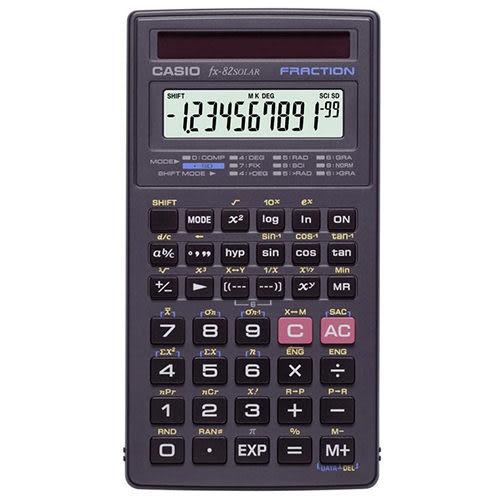【奇奇文具】【CASIO 卡西歐 計算機】FX-82 SOLAR 工程用計算機/國家考試公告指定機型