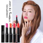 韓國3CE(3CONCEPT EYES) 奶油潤澤漾色唇膏 多色 4.5g ◆86小舖 ◆