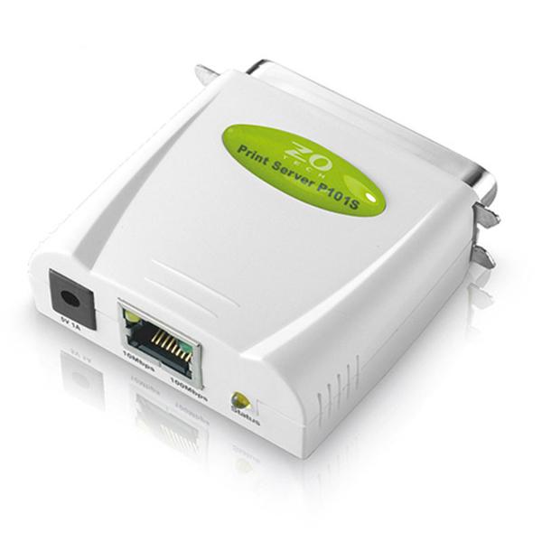 Zero One Tech 零壹科技 P101S 支援平行埠介面 印表機 伺服器