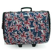 寵物拉桿箱-英國國旗圖案防水貓狗肩背寵物外出提籠69b53【時尚巴黎】