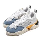 【海外限定】adidas 休閒鞋 Supercourt RX 白 銀 藍 女鞋 拼接 復古奶油底 運動鞋 【ACS】 FV3700