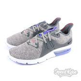 NIKE Wmns Air Max Sequent 3 灰 紫編織 氣墊 慢跑鞋 女 908993-013  ☆SP☆
