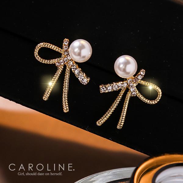 《Caroline》★韓國熱賣造型時尚  高貴典雅設計 耳環71245