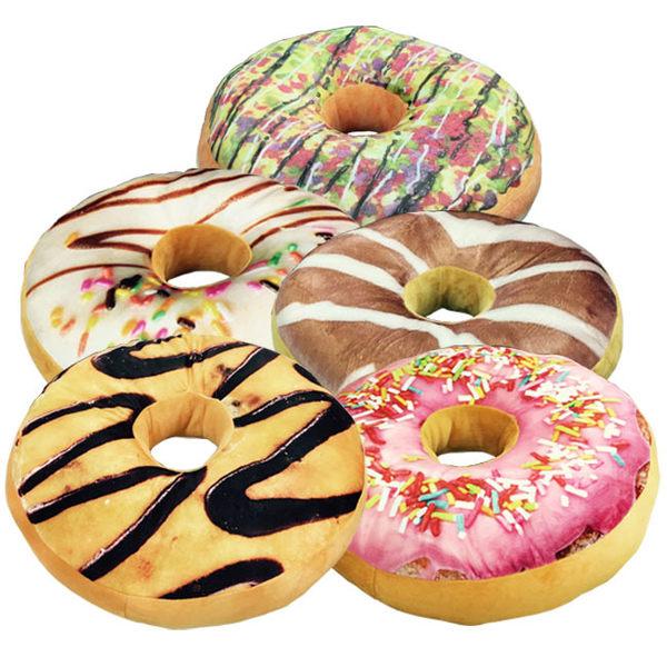 莫菲思 療育可口甜甜圈造型抱枕/坐墊/寵物墊/靠枕